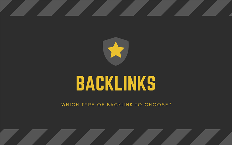 Backlinks: Which backlink to choose?
